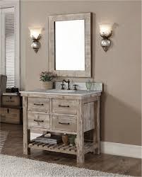 Bathroom Vanity With Farmhouse Sink Nightingale White 36 Inch Farmhouse Apron Single Sink Bathroom