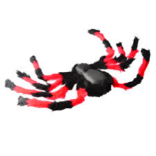 halloween costume home decoration giant spider with jeweled eyes