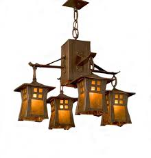 arts and crafts pendant lighting arts and crafts chandelier dosgildas com