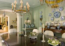 cathy kincaid interiors dining room w lots of china table u0027s