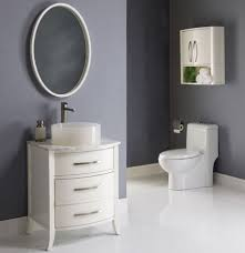 Dark Gray Bathroom by Gray And White Bathroom Ideas Dark Brown Varnished Wooden Frame