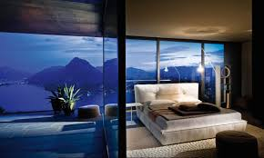 glass wall design interior fantastic panoramic view seen from amazing