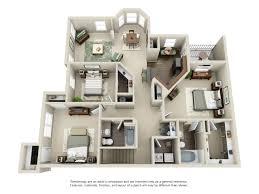 one two u0026 three bedroom apartments villas of kingwood