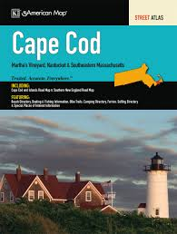 cape cod ma atlas american map 9780762569649 amazon com books