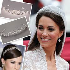 kate middleton wedding tiara get the look kate s tiara brides