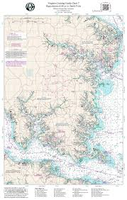Chesapeake Bay Map Vachart 7 Chesapeake Bay Rappahannock River To Smith Point Preview