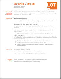 Sample Resume Objectives For Landscaping by Landscaping Resume Free Resume Example And Writing Download