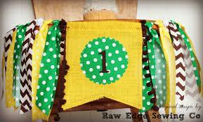 John Deere Rocking Chair Tractor Farmer Birthday High Chair Highchair Banner Party