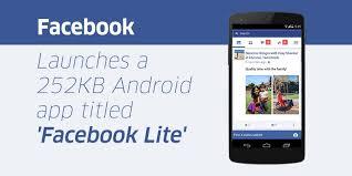 Fb Lite Lite Is Not Downloadable App Comes Message