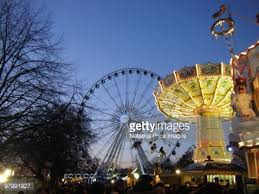 londons winter fair stock photo getty images