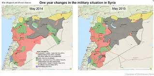 Syria Battle Map by Syrian Civil War Musings On Maps