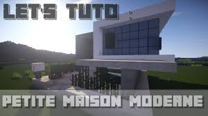 Maison Modern Minecraft by Minecraft Let U0027s Tuto Petite Maison Ultra Moderne Downlaod