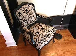 dining room chair upholstery fabric chair how to re cover an upholstered hgtv kitchen upholstery