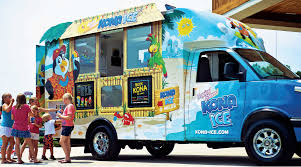 Used Concession Trailers For Sale In Atlanta Ga Shaved Ice Truck And Ice Cream Truck U003e Kona Ice