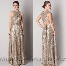 gold maternity bridesmaid dress sparkly gold cheap 2015 bridesmaid dresses a line halter