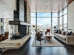 glass wall design for living room elegant design ideas of living room with black color tufted classy