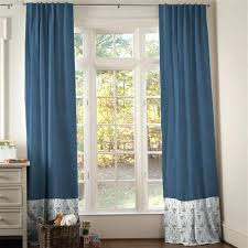 Boho Window Curtains Boho Window Curtains Blue Denim Drape Panel Boho Style Window