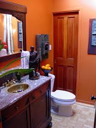 orange bathroom decorating ideas mesmerizing orange and grey bathroom accessories ideas best
