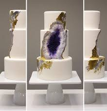 Wedding Cake Jakarta This New Geode Wedding Cake Trend Is Rocking The Internet Bored