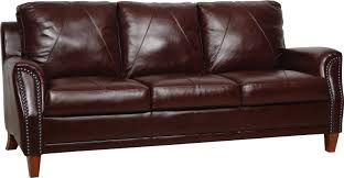 Omnia Leather Furniture Luke Leather Austin Leather Sofa U0026 Reviews Wayfair