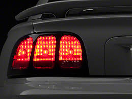 96 98 mustang tail lights american muscle graphics mustang smoked tail light tint 26271 96 98