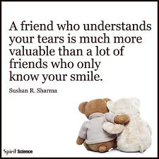 friendship thanksgiving quotes a friend who understands your tears pictures photos and