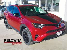 red toyota new 2018 toyota rav4 4 door sport utility in kelowna bc 8rv5721