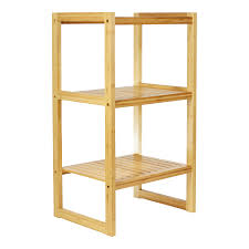 bamboo bookshelves stacking and freestanding storables