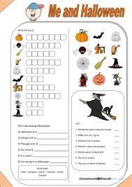 460 free esl halloween worksheets