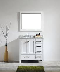 36 In Bathroom Vanity With Top Bathroom White Bathroom Vanity 23 Transitional 36 Inch White