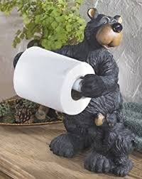 Animal Toilet Paper Holder Amazon Com River U0027s Edge Black Lab Standing Toilet Paper Holder