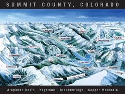 map of colorado ski resorts ski trail map artist kevin mastin
