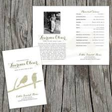 modern funeral programs funeral and memorial service invitation with rocks memorial