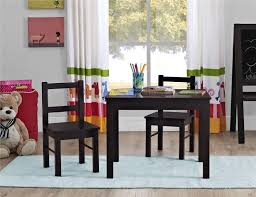 table and 2 chairs set dorel 3 piece kid s wood table and chair set walmart canada
