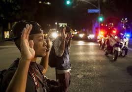 slideshow ferguson protests arrested protesters to be released