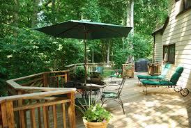 traditional deck with wood decking u0026 outdoor kitchen in fairfax