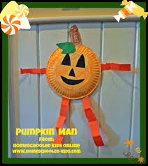 magazine for homeschooled kids pumpkin man craft for kids