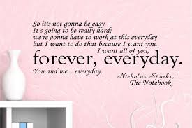 the notebook wall decal quote zoom