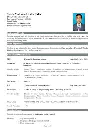good resume format pdf best resume format pdf for engineers sle resume for freshers