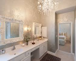 glitter wallpaper bathroom glitter wallpaper houzz