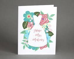 bridal shower cards bridal shower cards etsy