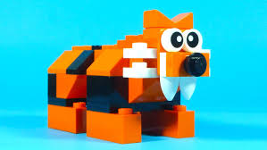 how to build lego tiger creative building cube creations for kids