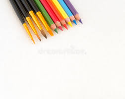pencil for painting brush and pencil for painting stock image image 59666361