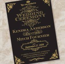 black and gold wedding invitations wedding invitation etiquette 17 psd indesign format