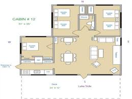 1 Bedroom Cabin Floor Plans 54 Simple House Floor Plans Small Cabin Simple Log Cabin Homes