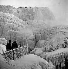 andreas feininger niagara falls winter 1956 u003c u003candreas