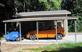 Metal Car Awning Vertical Roof Metal Awning