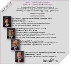 Association Of Pathology Chairs Inspirata Marks 1st Anniversary Of 10 Year Engagement At Ohio