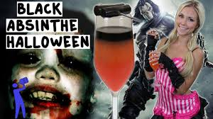black absinthe halloween halloween tipsy bartender youtube