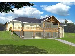 house plans with walkout basement house plans ranch walkout basement simple design hillside walkout